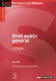 DROIT PUBLIC GENERAL - 6E EDITION